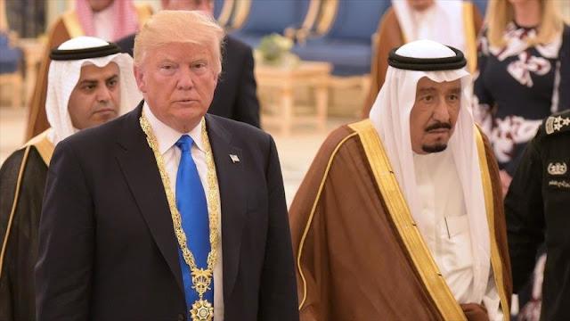Riad se queda callado ante repetidas humillaciones de Trump
