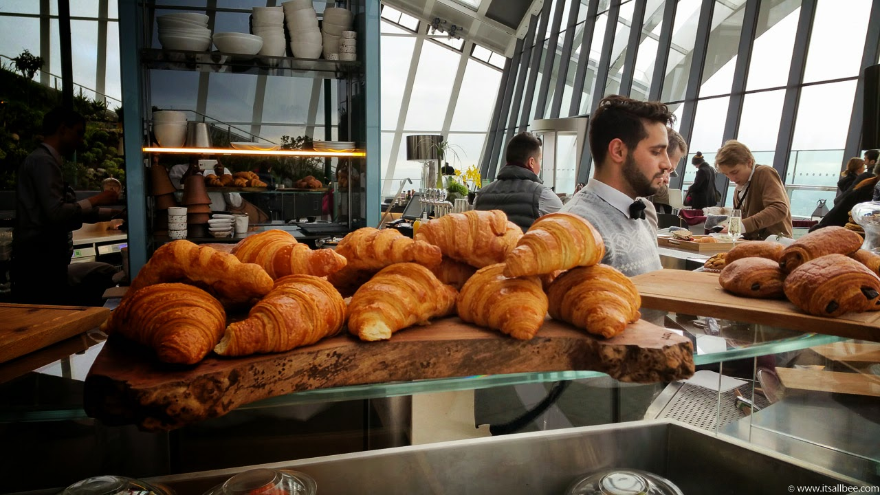 sky pod bar london breakfast | Fenchurch Street Walkie Talkie