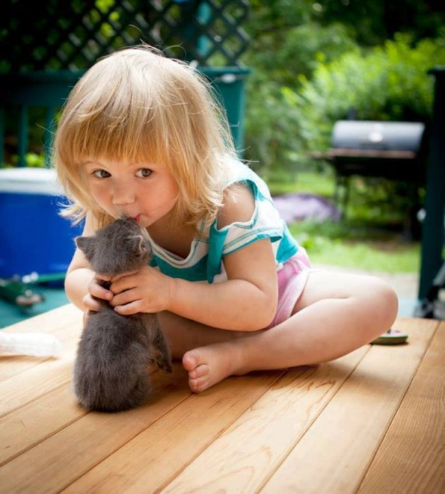 25 reasons why kids need pets