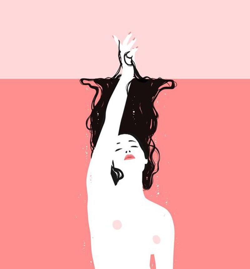 ilustração mulher Jason Levesque
