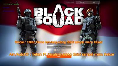 Cheat Black Squad 10 Juni 2016 Auto HS