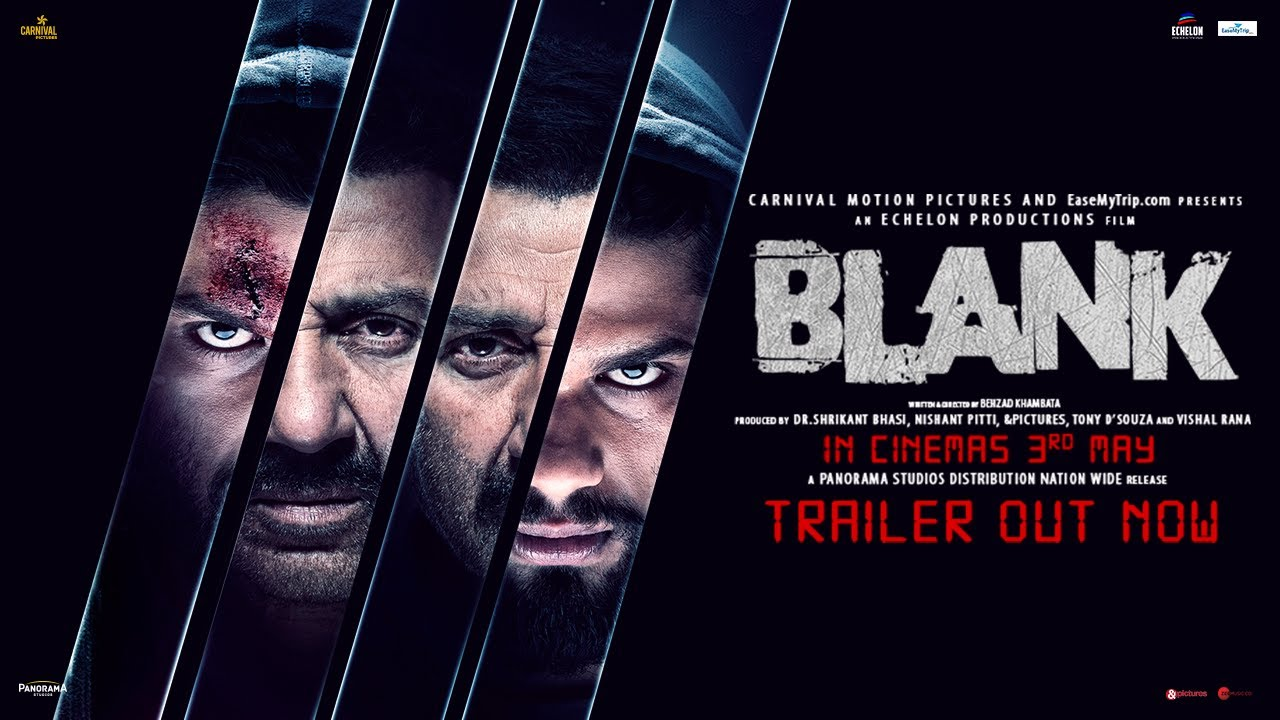 Blank Official Trailer | Sunny Deol | Karan Kapadia
