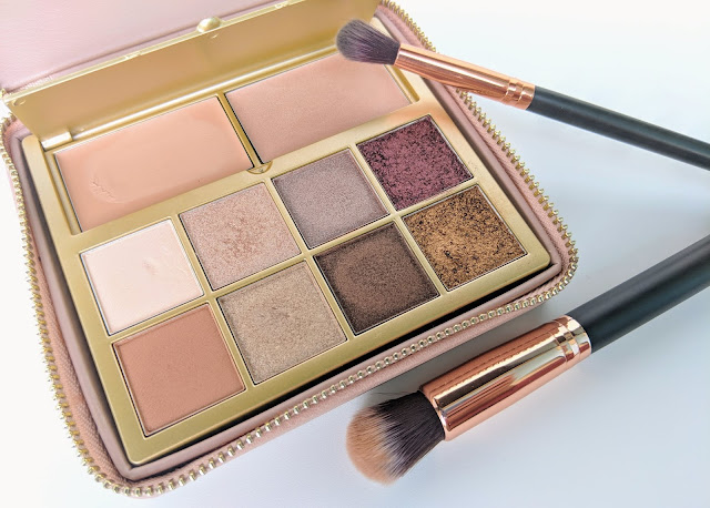 B-Glowing Beauty Illuminate + Shine Palette Open Packaging