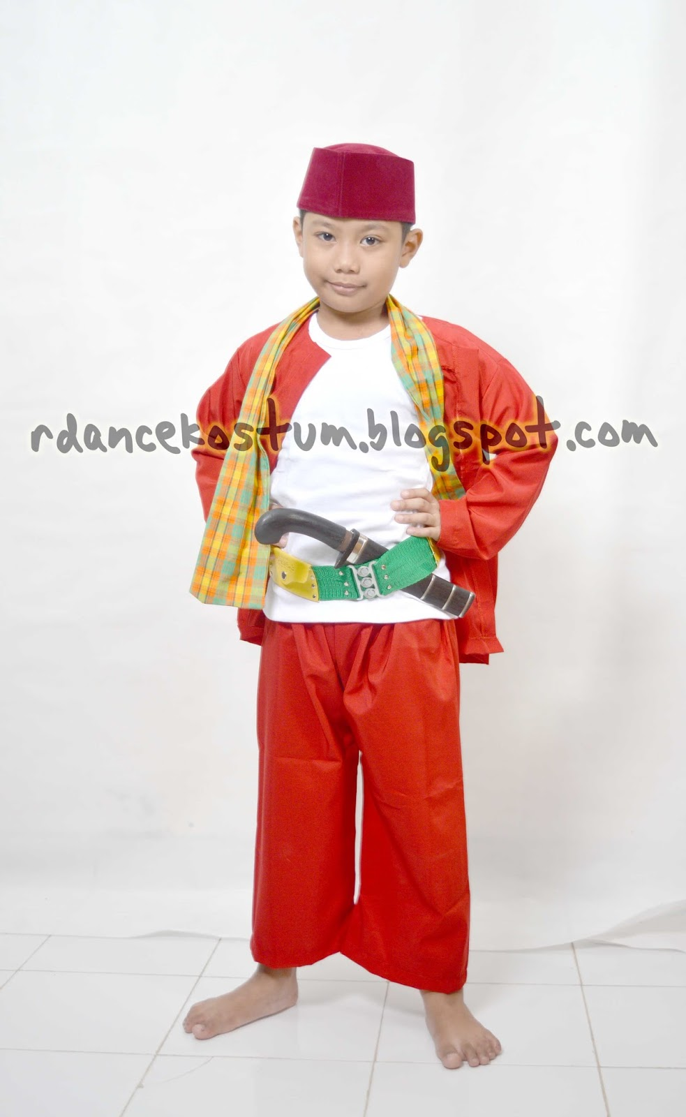 Sewa Kostum Bintaro BSD Serpong Baju Betawi