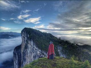 Buntu Sarira, Gunung Penyembahan Miliki Ritual Khusus untuk Menuju Jembatan Pintu Langit