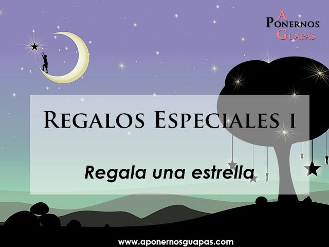 Regalos especiales Regala una estrella