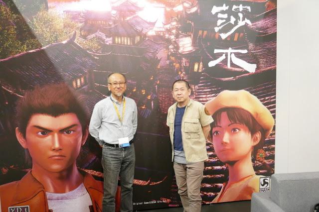 Hideaki Morishita (left) with Yu Suzuki (right)