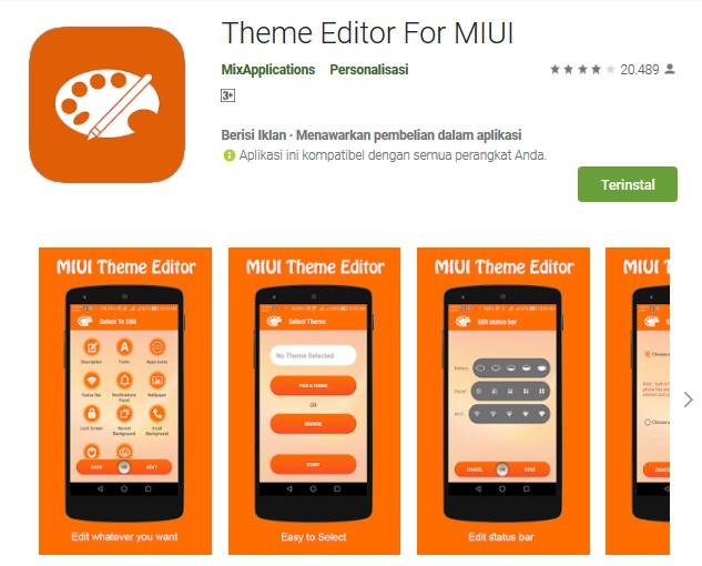 Cara Mengatasi Error 402 saat Memasang Tema Xiaomi - MIUI Editor