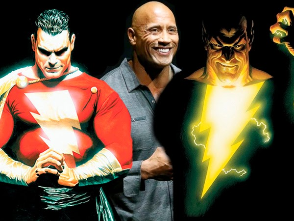Dwayne Johnson será Shazam o Black Adam