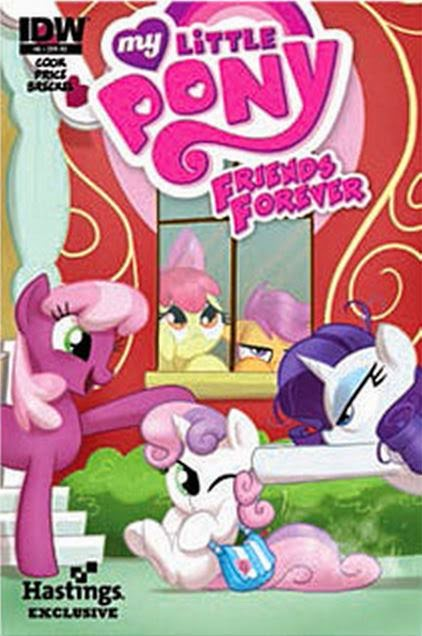 MLP Friends Forever Issue & 8 Comic Covers | MLP Merch