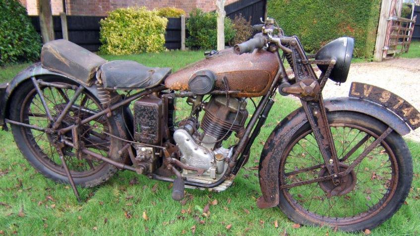 Royal Enfield motorcycle.