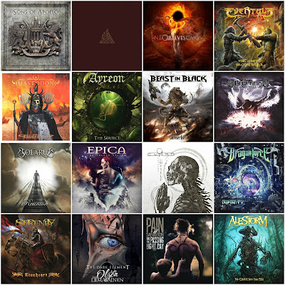 Vote For The Best Metal Album of 2017