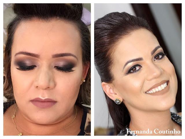 Makeup Fernanda Coutinho