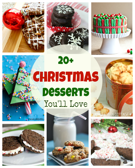 A collection of mouthwatering sweets and desserts recipe ideas for you to get inspired for Christmas