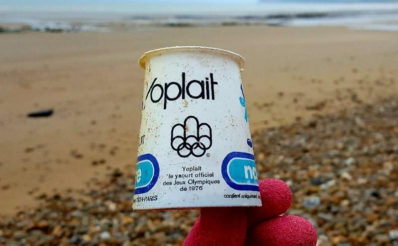 Copo de iogurte da Yoplait