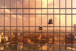 Fajar di Menara Mercury