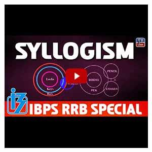 Syllogism | Reasoning | IBPS RRB Special 2017