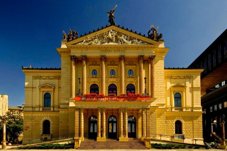 9. Prague State Opera, the Czech Republic - Top 10 Opera Houses in the World