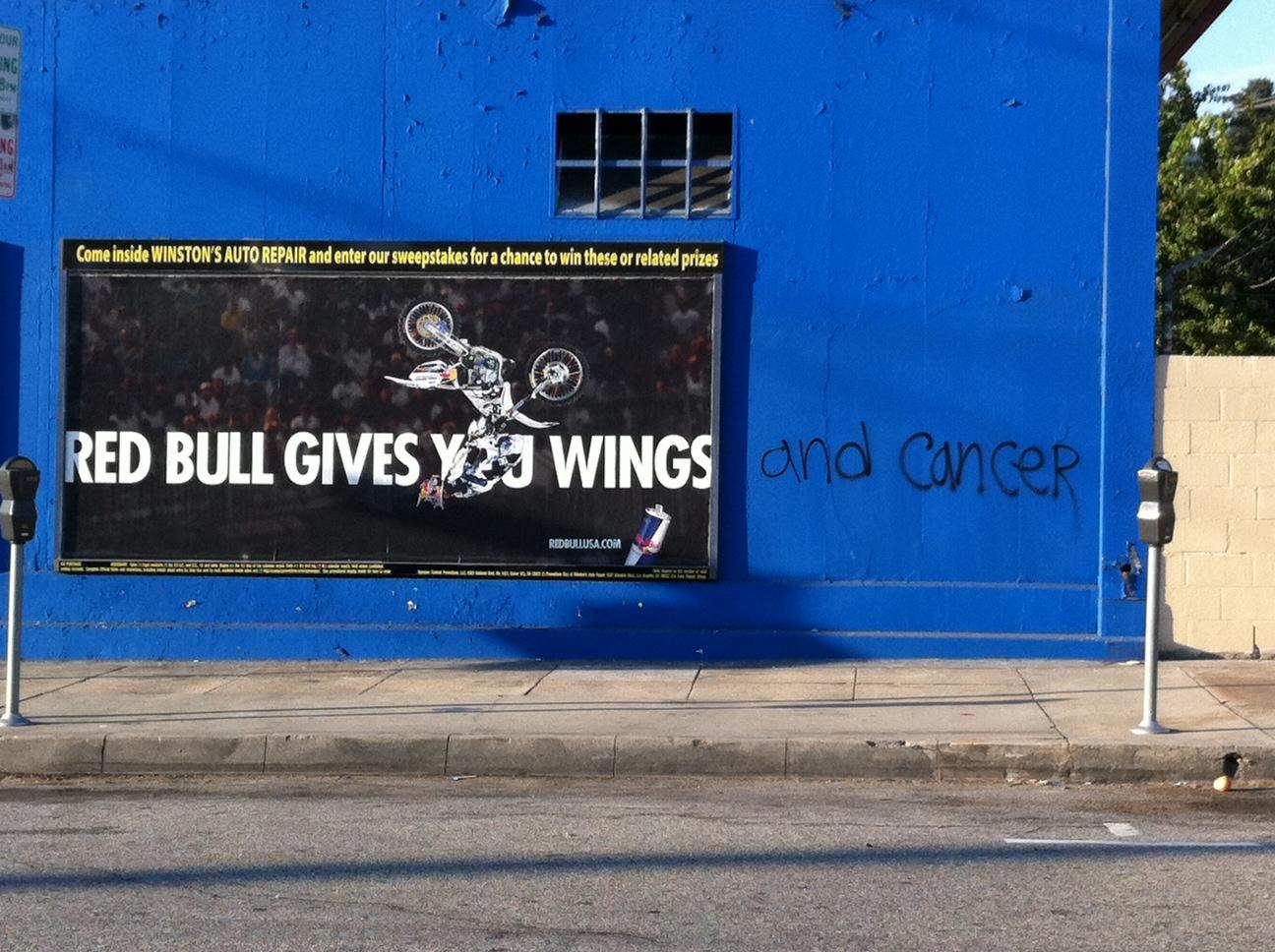 When Tara Met Blog Wordless Wednesday Red Bull Graffiti