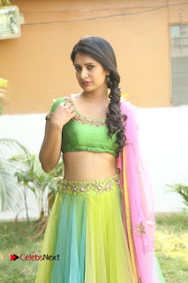 Actress Nikitha Bisht Stills in Lehenga Choli at Pochampally Ikat Art Mela Launch  0116.JPG