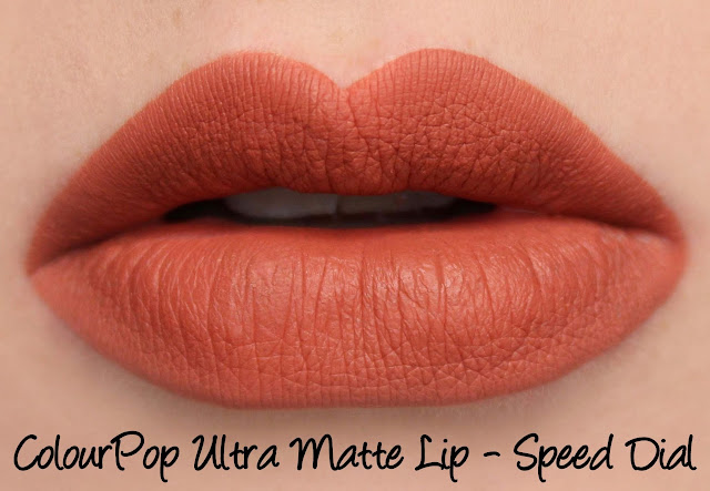ColourPop Speed Dial Ultra Matte Lip Swatches & Review