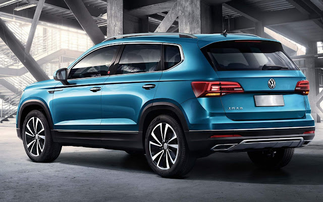 Novo Volkswagen Tarek 2020 - SUV concorrente do Jeep CompassNovo Volkswagen Tarek 2020 - SUV concorrente do Jeep Compass