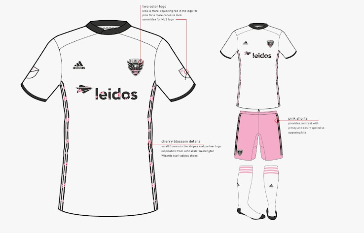best sneakers 7361e 4aced Not Boring At All: Rejected DC United 2019 Away Kit Designs ...