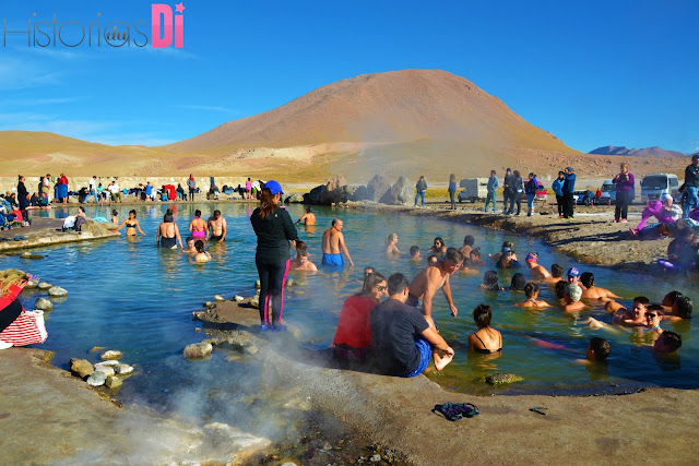 Piscina termal do Campo de Geysers el Tatio