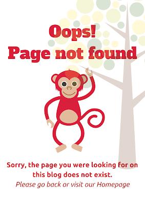 monkey error page