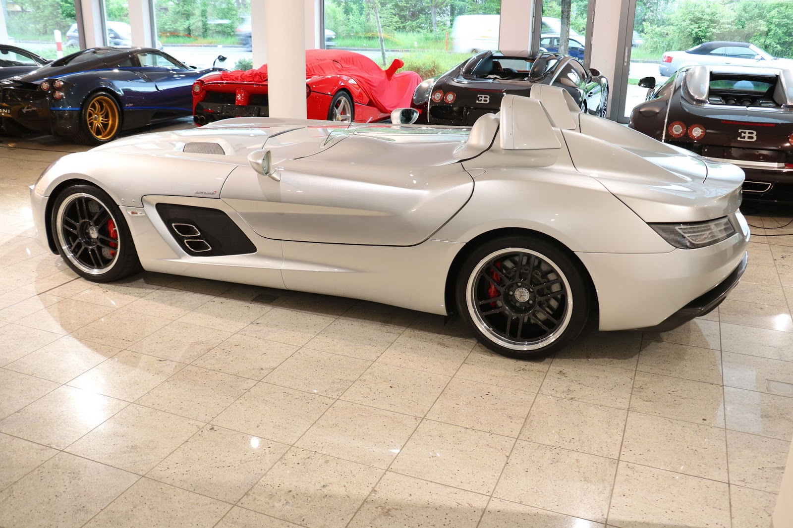 Mercedes benz slr stirling moss for sale in germany for Mercedes benz slr