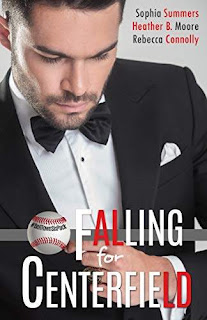 Falling for Centerfield - Swoony Sports Romance book promotion site Sophia Summers