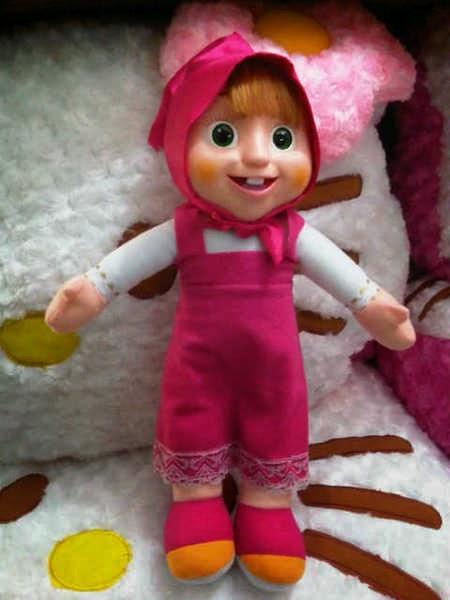 Gambar boneka masha gratis