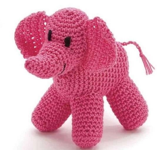 Bichinhos de Crochê Elefante - Receitas Amigurumis Elefante ... | 510x534