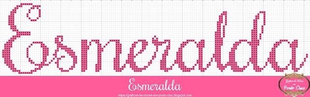 Nome Esmeralda em Ponto Cruz