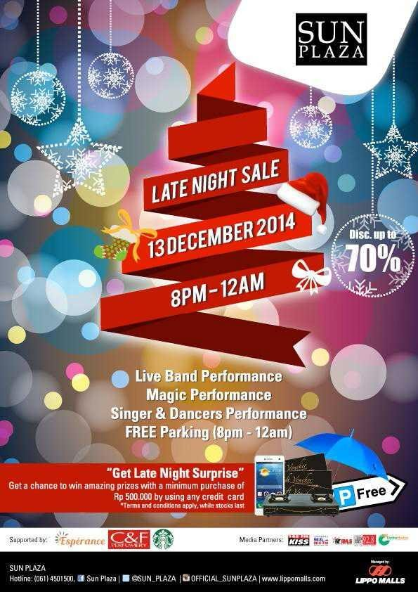 Late Night Sale di SUN Plaza