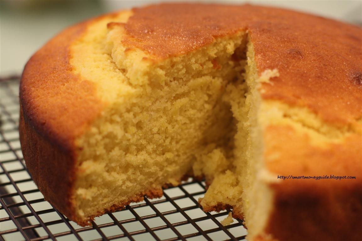 Orange Layer Cake Recipe With Orange Juice