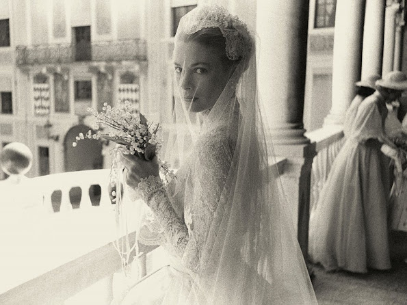 To mark 60 years since the fairytale wedding of Grace Kelly and Prince Rainier of Monaco III, the palace has released previously unseen images from their archives.