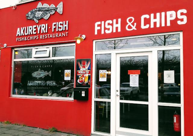 Where to eat in Akureyri Iceland