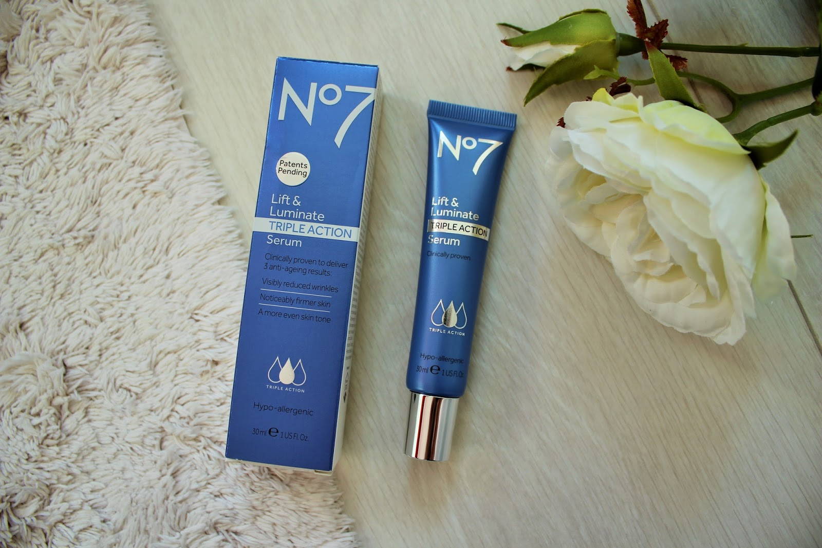 No7 Lift & Luminate Triple Action Range - First Impressions and Giveaway 3