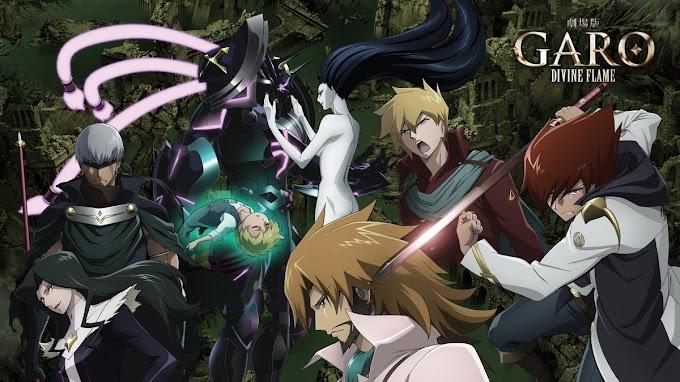 Movie Anime Garo : Divine Flame