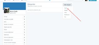 bloggera twitter ekleme