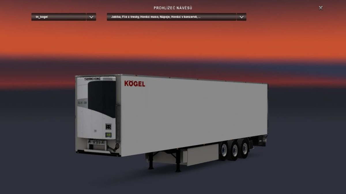 Multicolor Logo - Kögel Trailer