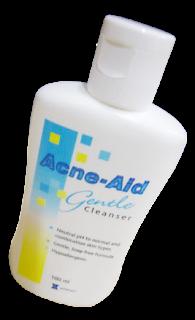 Acne-Aid gentle cleanser(ขวดสีฟ้า)