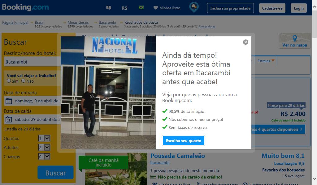 ba49c39598 Devido estes politicas proferidos pelos provedores tripadvisor e booking a  divulgação pelo site www.baciadoriosaofrancisco.com.br, bem como os sites e  blogs ...