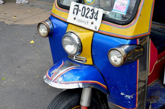 방콕의 툭툭