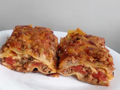 Włoskie danie z makaronu