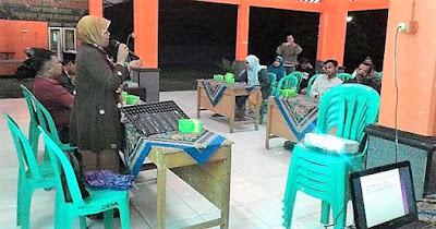 Budidaya Cabai Dalam Wadah Disuluhkan di Lokasi TMMD