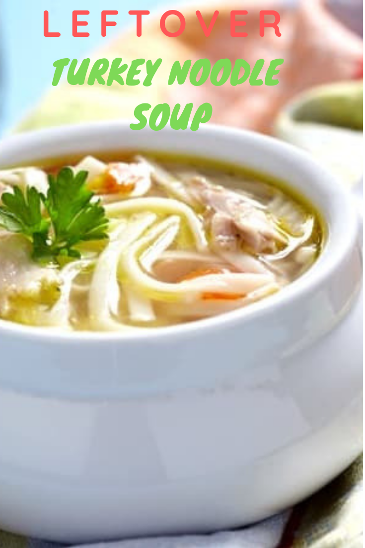 Leftover Turkey Noodle Soup Recipe