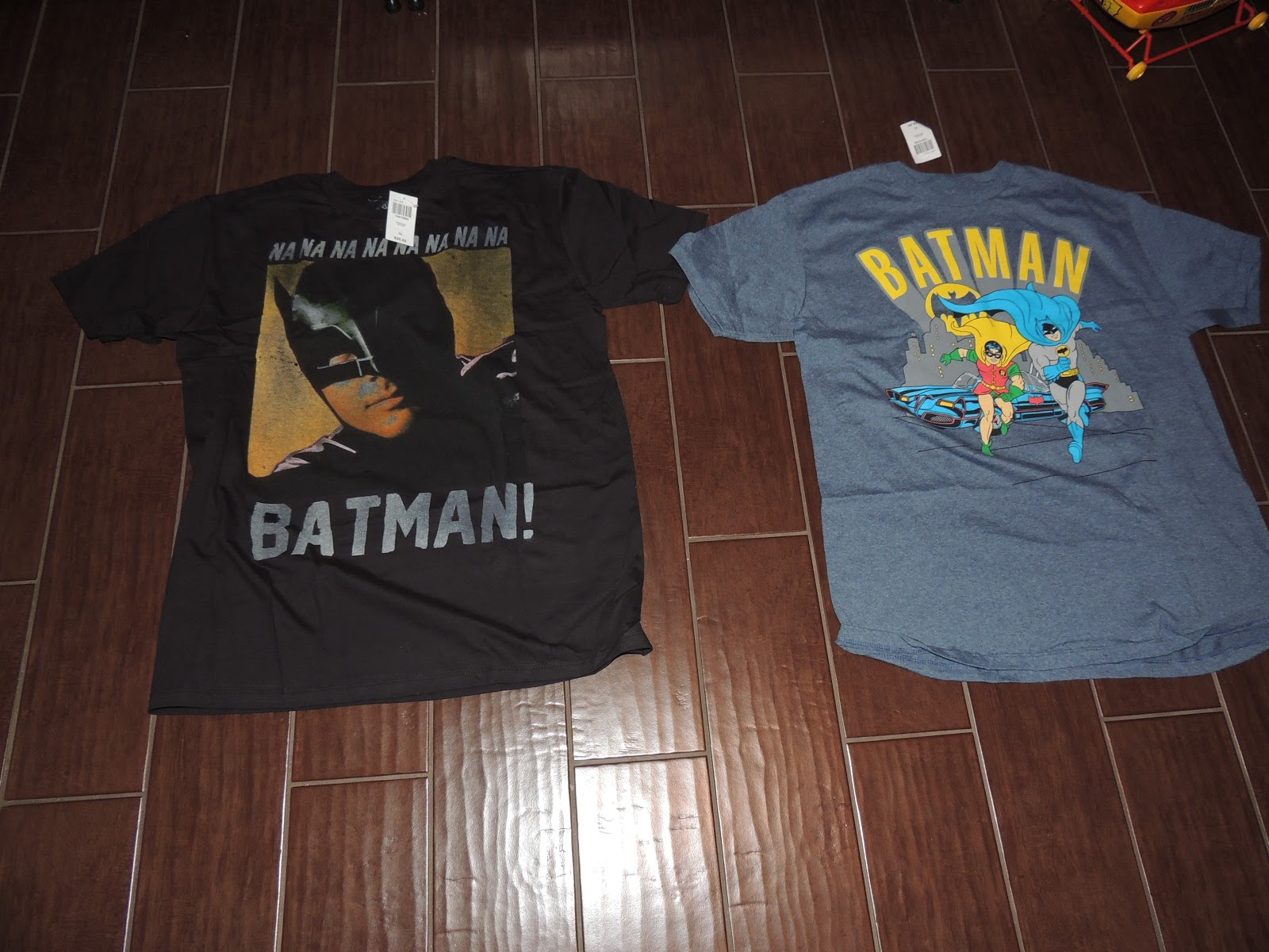 f1fc01135785 Batcave Toy Room - Better Living Through Toy Collecting: Batman TV Series  T-shirts At Hot Topic Buy One, Get One Half Off