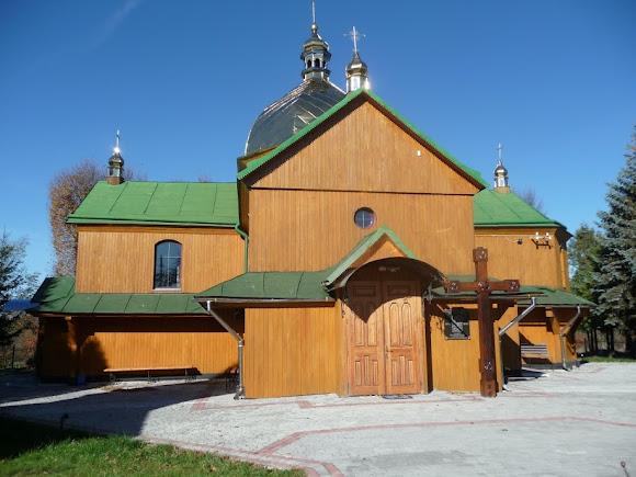 Верхні Гаї. Церква Пресвятої Трійці. 1910 р.